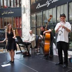 Adéla Zejfartová a Sunny Swing Trio