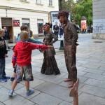 Živé sochy ze Srbska