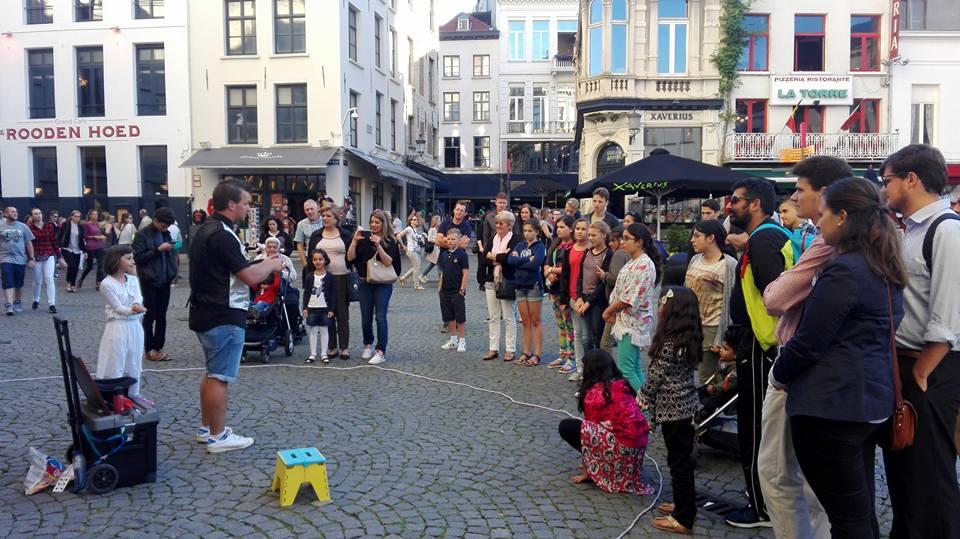 Busking Antwerpen