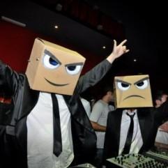 Busking DJ's stage